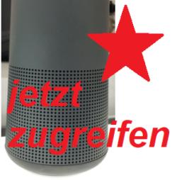 zugreifen Bluetooth Lautsprecher