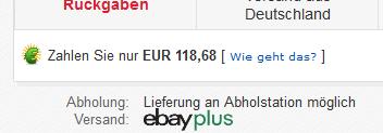 ebay schnäppchen