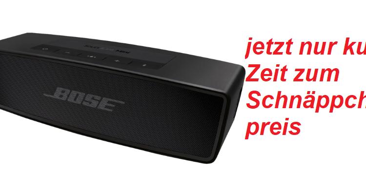 Bose Soundlink mini II günstig preiswert preisvergleich